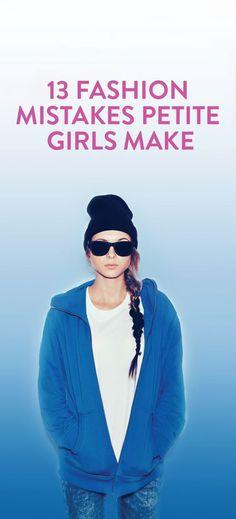 13 fashion mistakes petite girls make