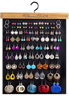 Glamour Grid Earring Organizer Product Details