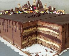 Dobos Torte Recipe, Torte Cake, Oreo Cheesecake Bites, Kolaci I Torte, Walnut Recipes, Tasty Chocolate Cake, Biscuit Cake, Bakery Recipes, Cooking Recipes