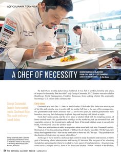Sodexo Chef George Castaneda shares his culinary journey >>