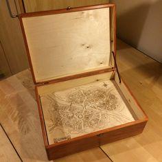 Wood box for the gamemaster.  #handcraft #handicraft #wood #box #warhammer #rpg #fcrafts