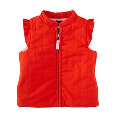Clotilde Canvas Quilted Vest | Tea Collection