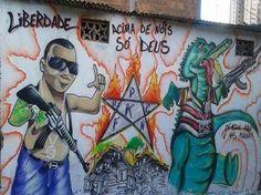 PM identifica tatuagens eleitas pelas facções criminosas da Bahia em cartilha