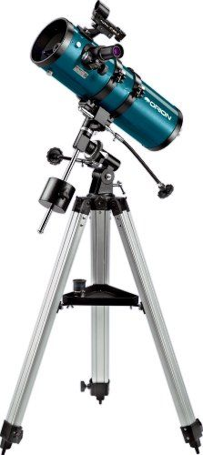 I was given a telescope for my birthday when I was about 10. I'd look at the planets and marvel at the rings of Saturn or try to see where man had landed on the Moon.