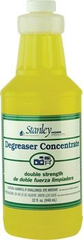 Degreaser Concentrate All-Purpose, Double-Strength Cleaner Concentrated to work hard: Dissolves grease in seconds on cookware, countertops, broilers, dishes, tools, and walls - wherever grease build-up is a problem. Cost effective: It's four times more concentrated than leading cleaners ... so you use only 1/4 as much. 32 oz. of Degreaser Concentrate makes 96 16-oz. pump spray bottles. Safe for septic tanks, biodegradable, and phosphate-free. Order @ www.myshp.com/sbrown