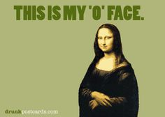 the original 'o' face. #monalisa #leonardo #davinci