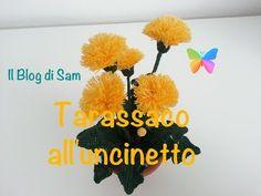 Il Blog di Sam: Spiegazione del Tarassaco all'uncinetto