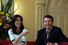 Denmark's Crown Prince Fredrick and Princess Mary. March 11, 2009