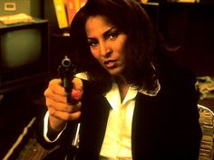 pam grier in jackie brown Quentin Tarantino, Pam Grier Jackie Brown, Non Plus Ultra, Foxy Brown, Tough Girl, Film Inspiration, Badass Women, The Ranch, In Hollywood