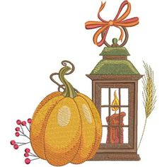 Season For Pumpkins - Kreations by Kara Thanksgiving Projects, Fall Projects, Custom Embroidery, Machine Embroidery Designs, Quilting Projects, Quilting Designs, Art Deco Borders, Halloween Silhouettes, Free Design