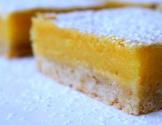 (Chocolate Coated) Lemon Bars