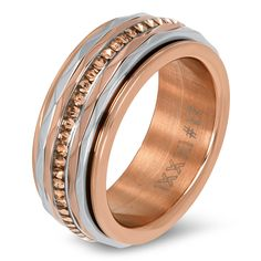 Complete IXXXi ring rosé goud met zilver Gold Jewelry, Jewlery, Jewelry Accessories, Fasion, Rings For Men, Wedding Rings, Rose Gold, Engagement Rings, Pearls