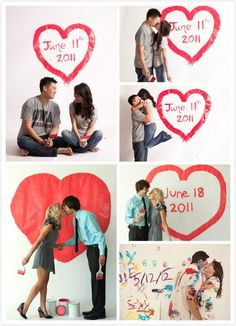 save the date photo ideas | Unique & Adorable Save the Date Ideas - Women's Fashion Blog by Merle ...