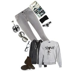 """""""Meeh ._."""" by ieatsoulsforlunch on Polyvore"""