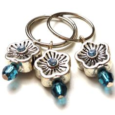 How to Make Your Own Knitting Stitch Markers — dreamcatcher