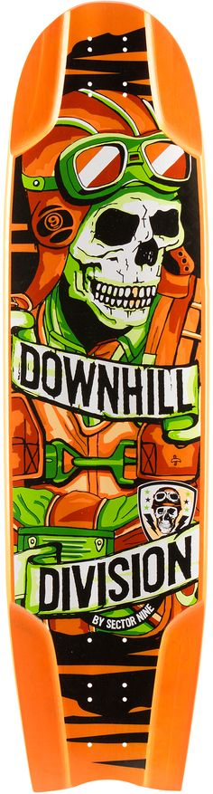 Sector 9 Bomber Downhill Division Longboard Skateboard Deck