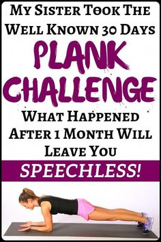 Excellent #health information are readily available on our website. Take a look and you will not be sorry you did. Slim Waist Workout, Tummy Workout, Fat Workout, 30 Day Plank Challenge, Weight Loss Challenge, Planking Challenge, Detox Challenge, Health Benefits, Health Tips