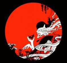 「Mononoke」怪化猫 . モノノ怪. 卖药郎