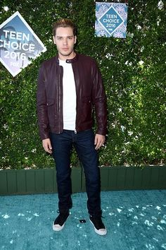From breaking news and entertainment to sports and politics, get the full story with all the live commentary. Teen Choice Awards 2016, Dominic Sherwood, Sports And Politics, Bomber Jacket, Bomber Jackets