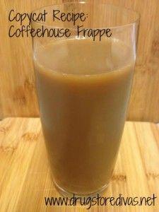 Copycat Recipe: Coffeehouse Frappe