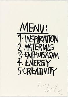 #menu #inspiration #energy