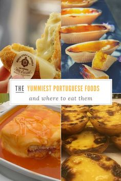 10 Mouthwatering Portuguese Foods to Try. Click on on the image to see the article. Portuguese Food | Portugal for foodies | What to eat in Portugal | What to try in Portugal | Best foods to try in Portugal | Traditional Portuguese Dishes | Travel to Eat