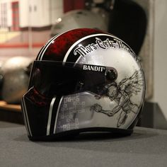 #helmets #caferacer #scrambler #chopper #racing #motorcycles #custompaint