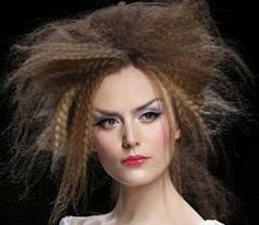 catwalk hair crimped - Google Search