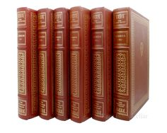 THE DECLINE AND FALL OF THE ROMAN EMPIRE 6 Volume Set, Edward Gibbon Franklin Library rare books