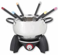 Trudeau Electric 3 in 1 Fondue Set - The best electric fondue pot we have found. Just ordered a 2nd one for our 4th annual Christmas fondue tradition.