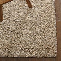 Bello Shag Wool Rug | west elm - 8'x10' - $979 - idea for textural living room rug