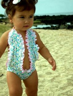 Baby bathingsuit!