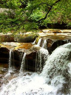 Dunloup Falls, near Thurmond, WV  www.visitwv.com