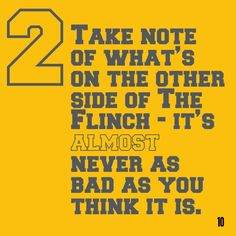 The Flinch in 60 seconds. Want the version? Get a free Readitfor.me account. Thing 1 Thing 2, Accounting, Thinking Of You, Things To Think About, Periodic Table, Singing, This Book, Books, Free