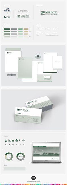 AHdesign Studio Identidade Visual para Mercatto associada ao Grupo Bozano #design, #graphicdesign, #idvisual, #branding, #corporatedesign, #businesscard, #papelaria, #logodesign, #logomarca, #powerpoint, #ahdesignstudio