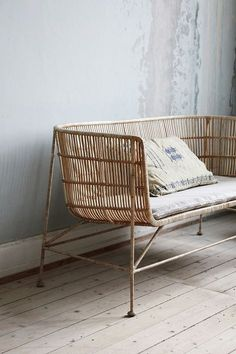Simple and Modern Tricks: Natural Home Decor Rustic House natural home decor inspiration woods.Natural Home Decor Earth Tones Green natural home decor earth tones rugs.Natural Home Decor Earth Tones Rugs. Rattan Furniture, Home Furniture, Furniture Design, Rattan Sofa, Chaise Sofa, Armchair, House Doctor, Natural Home Decor, Take A Seat