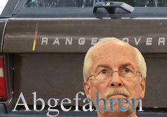 RANGE OVER - Neuer Dienstwagen für den Generalbundesanwalt