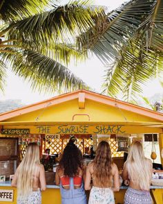 The Sunrise Shack pit stops on the North Shore