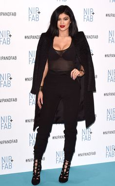 Kylie Jenner rocks a sheer top and looks amazing in London!