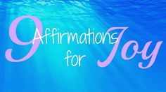Let's take a moment to appreciate the joys in life and encourage ourselves to share this joy with others. Here are 9 affirmations to get started