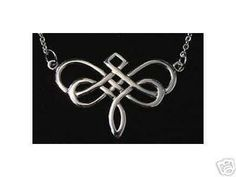 Dragonfly Celtic Infinity Knot Silver pendant Charm Sterling Silver 925 Jewelry