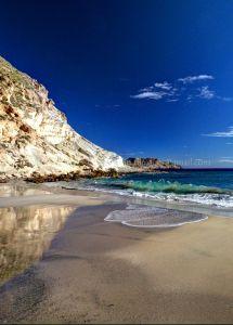Golden sands .... blue seas... Playa del Plomo, Almeria, Spain