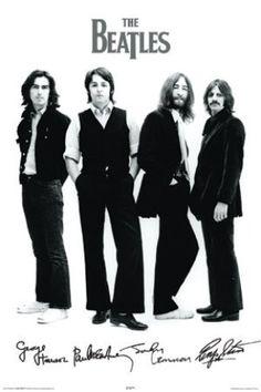 """MUS46103 """"Beatles - Signatures"""" (24 X 36)"""