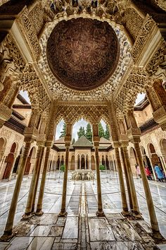 Heavy Rain Alhambra Granada | Flickr: Intercambio de fotos  ✈✈✈ Don't miss your chance to win a Free International Roundtrip Ticket to Cordoba, Spain from anywhere in the world **GIVEAWAY** ✈✈✈ https://thedecisionmoment.com/free-roundtrip-tickets-to-europe-spain-cordoba/