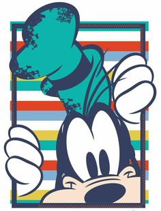 Goofy - Top Tutorial and Ideas Mickey Mouse Y Amigos, Mickey Mouse Art, Mickey Mouse Wallpaper, Disney Phone Wallpaper, Mickey Mouse And Friends, Cartoon Wallpaper, Goofy Disney, Disney Time, Art Disney