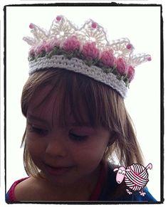 Мобильный LiveInternet Цветочная коронка. Crochet Flower Girl Crown Tutorial. | candra - Дневник candra |