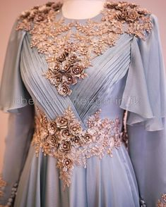 No photo description. Hijab Dress Party, Hijab Wedding Dresses, Pakistani Dresses, Prom Dresses, Dress Prom, Most Beautiful Dresses, Elegant Dresses, Casual Dresses, Muslim Fashion