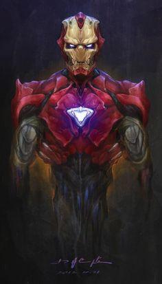 biomechanical iron man