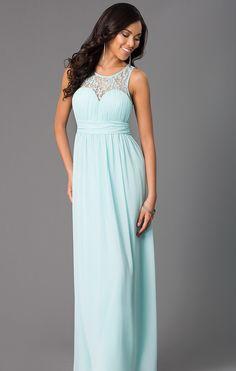 c3be0419e63 Affordable floor length chiffon Navy Bridesmaid Dress – Frugal Mughal  Jovani Dresses