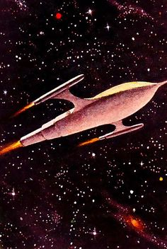 Rare and wonderful 1950s Space Art
